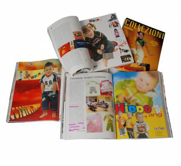 pagine pubblicitarie per riviste