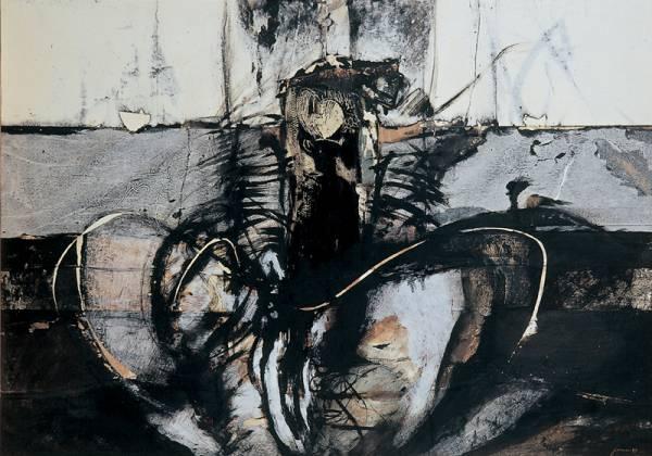 foto dell'opera per realizzare il catalogo della mostra personale
