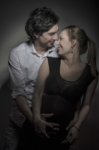 servizio fotografico di coppia in studio