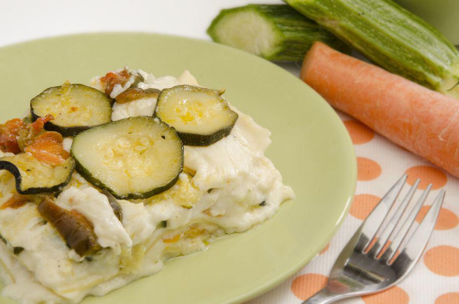 foto di lasagne in piatto