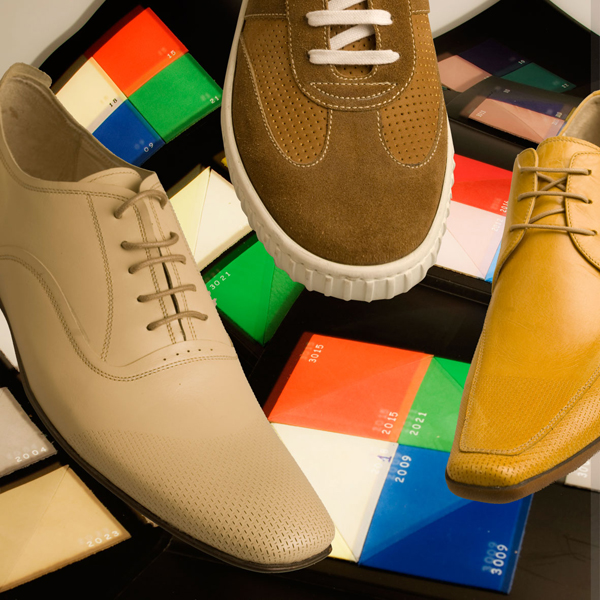 foto di pelli e calzature