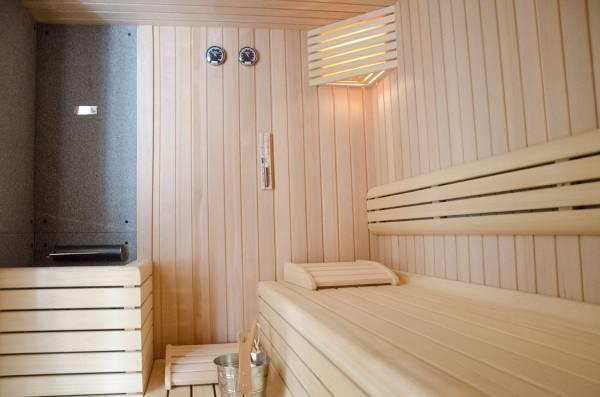 servizio fotografico per le Terme della Via Francigena la sauna