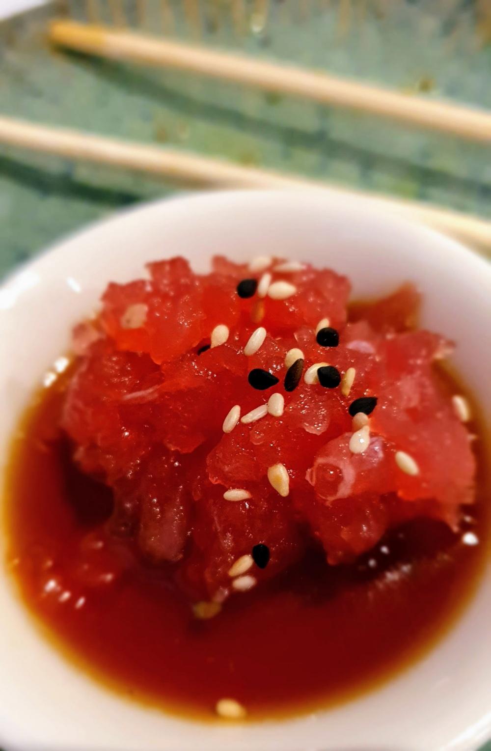 fotografare il sushi