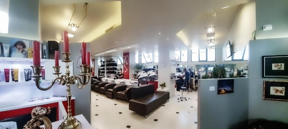 interno salone parrucchiere