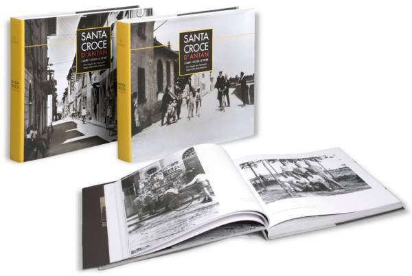 Un percorso nel tempo di immagine e poesia... Due Volumi realizzati Con il patrocinio del Comune di Santa Croce, la Provincia di Pisa e il contributo della Fondazione CRSM