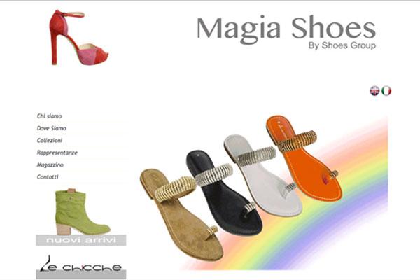 Magia shoes sito realizzato da ideositiweb foto cenni liana